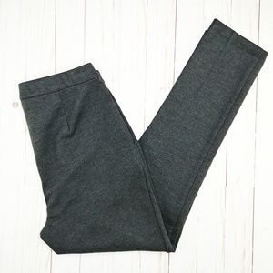 Theory   Thaniel K Wool Blend Creased Trouser Pant